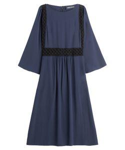 Vanessa Seward | Silk Dress With Lace Gr. Fr 40