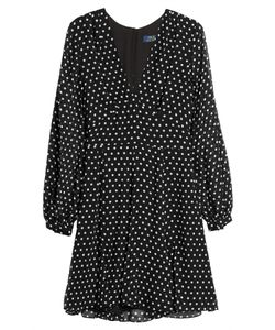 Polo Ralph Lauren   Printed Silk Dress Gr. Us 6