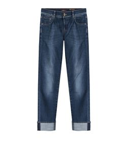 Seven for all Mankind | Cuffed Straight Leg Jeans Gr. 30