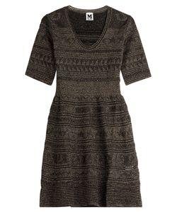 M Missoni | Metallic Knit Dress Gr. It 42