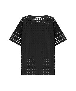 T by Alexander Wang | Short Sleeve Top With Cut-Out Detail Gr. M
