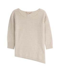 81 Hours by Dear Cashmere | Cashmere Pullover With Asymmetric Hem Gr. S