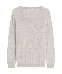 Brunello Cucinelli   Linen Pullover Gr. M