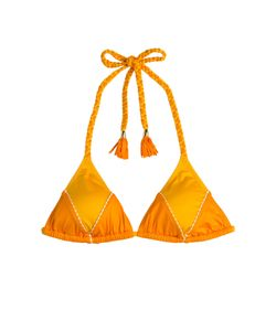 Paolita   Bikini Top With Braided Straps Gr. Xs