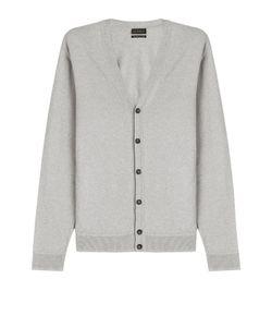 Baldessarini | Cotton Cardigan With Cashmere Gr. Eu 50