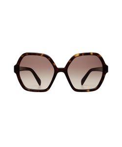 Prada   Oversize Tortoiseshell Sunglasses Gr. One Size