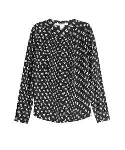 Diane von Furstenberg | Printed Silk Blouse Gr. Us 4