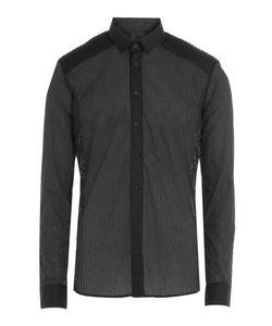 Balmain | Cotton Shirt With Cut-Out Detail Gr. Eu 42