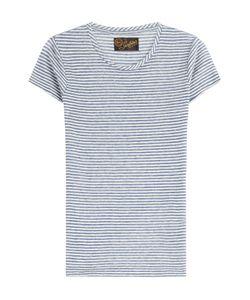 Seafarer | Striped Linen T-Shirt Gr. M