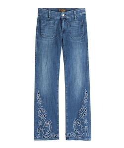Seafarer | Lord Jim Cropped Jeans With Cut-Out Detail Gr. 30