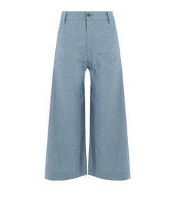 Seafarer | Cotton Wide Leg Culottes Gr. 28