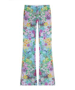 Seafarer | Drake Flower Power Flared Jeans Gr. 24
