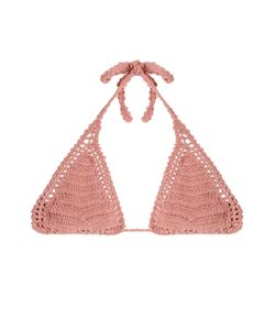 She Made Me | Crochet Triangle Bikini Top Gr. M/L
