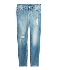 Seven for all Mankind | Distressed Skinny Jeans Gr. 25