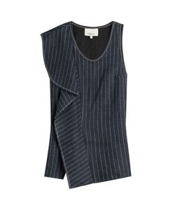3.1 Phillip Lim | Striped Linen Shell Gr. Us 6