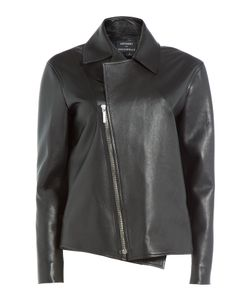 Anthony Vaccarello | Boxy Leather Jacket Gr. Fr 40