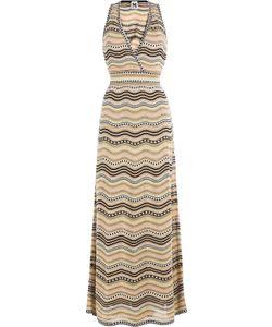 M Missoni | Cotton-Blend Printed Max-Dress Gr. It 40