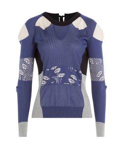 Maison Margiela | Silk Patchwork Pullover-Cardigan Gr. S