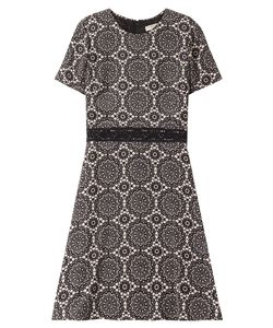 Burberry London | Printed Silk Dress Gr. Uk 12