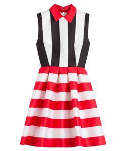Zuhair Murad | Striped Dress With Silk Gr. It 40