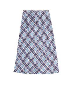 Marc Jacobs | Printed Silk Midi Skirt Gr. Us 2
