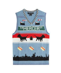 Marc Jacobs | Printed Wool Vest Gr. Xs