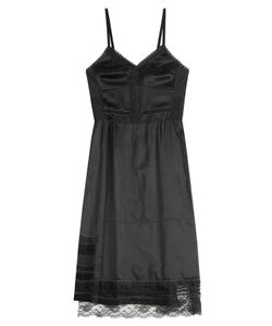 Marc Jacobs | Satin Dress With Lace Gr. Us 6