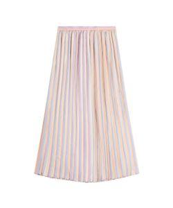 Marco de Vincenzo | Pleated Silk Skirt Gr. It 38