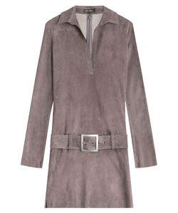 Jitrois | Suede Dress Gr. Fr 38