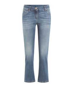Brunello Cucinelli   Cropped Skinny Jeans Gr. It 42