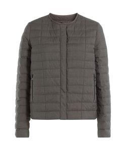 Brunello Cucinelli   Silk-Wool Jacket Gr. It 44