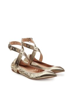 Valentino | Leather Ballerinas With Eyelets Gr. It 36