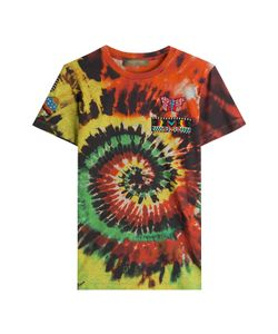 Valentino | Tie Dye Printed Cotton T-Shirt With Embellishment Gr. Xs