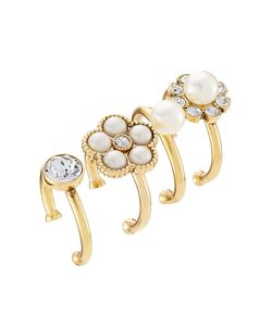 Marc Jacobs | Cabochon Midi Ring Set Gr. One Size
