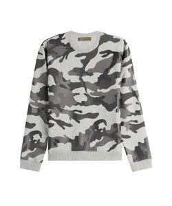 Valentino | Camouflage Printed Cotton Sweatshirt Gr. S
