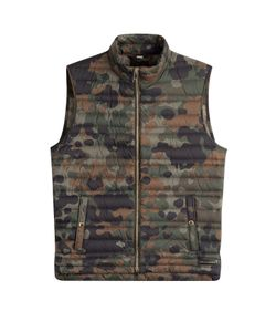 Burberry London | Printed Down Vest Gr. Xl