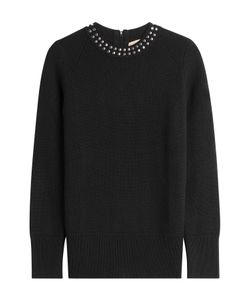 Burberry London | Embellished Cashmere Blend Pullover Gr. S