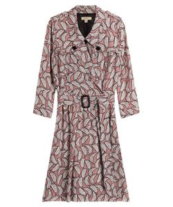 Burberry London | Belted Silk Shirtdress Gr. Uk 10