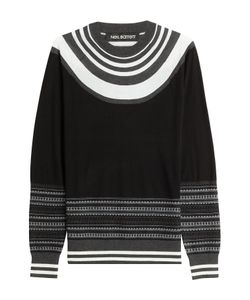 Neil Barrett | Pullover With Contrast Stripes Gr. M