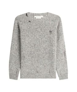 Marc Jacobs | Distressed Wool Pullover With Cashmere Gr. S