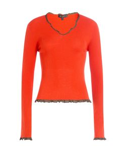 Etro | Wool Top With Ruffled Trim Gr. It 44