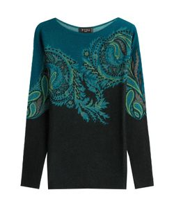 Etro | Printed Wool Pullover With Cashmere Gr. It 46