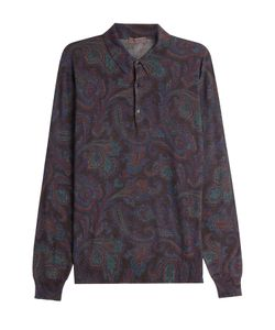 Etro | Printed Top With Wool Silk And Cashmere Gr. Xl