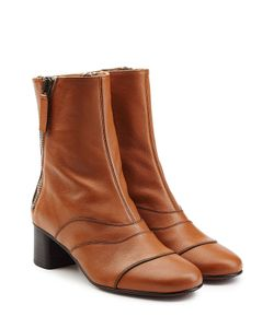 Chloé | Leather Ankle Boots Gr. It 37.5