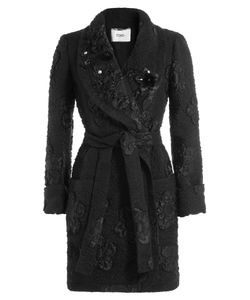 Fendi | Embellished Cloqué Coat Gr. It 40