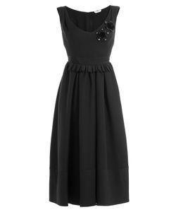 Fendi | Embellished Wool-Silk Cocktail Dress Gr. It 40