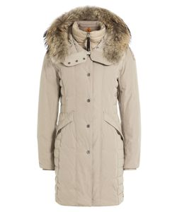 Parajumpers | Angie Down Jacket With Fur-Trimmed Hood Gr. Xs