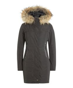 Parajumpers | Selma Down Jacket With Fur-Trimmed Hood Gr. Xs