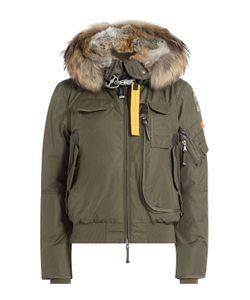Parajumpers | Gobi Down Bomber Jacket With Fur Trimmed Hood Gr. Xs