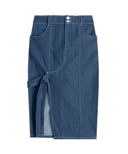 Sandy Liang | Denim Skirt With Cut-Out Front Gr. Fr 40